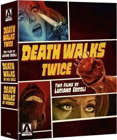新品北米版Blu-ray!Death Walks Twice: Two Films by Luciano Ercoli (4-Disc Limited Edition Boxset) [Blu-ray /DVD]!<『Death Walks on High Heels』『Death Walks at Midnight(ストリッパー殺人事件)』>