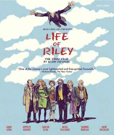 新品北米版Blu-ray!【愛して飲んで歌って】 Life of Riley [Blu-ray]!<アラン・レネ監督作品>