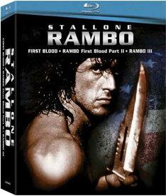新品北米版Blu-ray!Rambo Box Set [Blu-ray]!<『ランボー』『ランボー/怒りの脱出』『ランボー3/怒りのアフガン』>