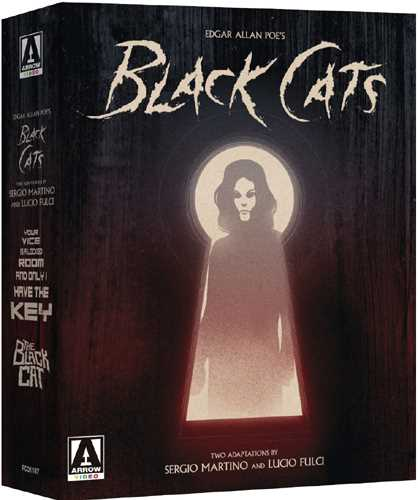 新品北米版Blu-ray!Edgar Allan Poe's Black Cats: Two Adaptations By Sergio Martino & Lucio Fulci (4-Disc Limited Special Edition) [Blu-ray/DVD]!<エドガー・アラン・ポー「黒猫」映画化2作品セット>