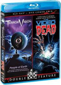 新品北米版Blu-ray!『テラービジョン』『ゾンビ・チャンネル』 TerrorVision / The Video Dead (Bluray/DVD Combo)!