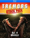 新品北米版Blu-ray!Tremors Attack Pack [Blu-ray] (『トレマーズ』『トレマーズ2』『トレマーズ3』『トレマーズ4』)