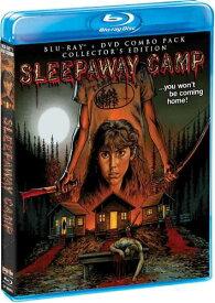 新品北米版Blu-ray!【サマーキャンプ・インフェルノ】 Sleepaway Camp (Collector's Edition) [Blu-ray/DVD]!