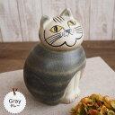 リサラーソン(Lisa Larson) ミアキャット グレー(Mサイズ) リサラーソン 猫グッズ 猫雑貨 猫 ねこ 置物  