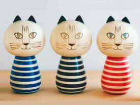 リサラーソン(Lisa Larson)ミンミ こけし 猫グッズ 猫雑貨