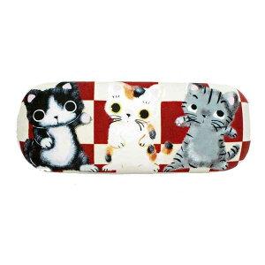 やまねこ(やまねみえこ) メガネケース クリーナー付き 猫グッズ 猫雑貨