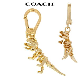 コーチ ペンダントトップ ネックレス ブレスレット チャーム ブランド 恐竜 ゴールド アウトレット COACH