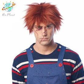 チャイルドプレイ チャッキー ウィッグ  変身用 コスプレ コスチューム 大人用 衣装 ハロウィン Child's Play