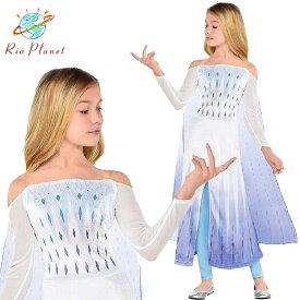 アナと雪の女王 エルサ ドレス 子供 キッズ 服 コスプレ なりきり ワンピース Frozen