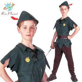 ピーターパン キッズ コスプレ 衣装 子供 ハロウィン コスチューム 仮装 衣装 Peter Pan