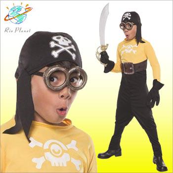 ミニオンズ コスチューム コスプレ 衣装 仮装 海賊 ハロウィン