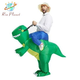 ハロウィン コスプレ メンズ 恐竜 おもしろ着ぐるみ おもしろコスチューム 衣装 仮装 大きいサイズ 男性 かぶりもの ジュラシックワールド ジュラシックパーク