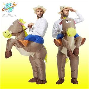 ハロウィン コスプレ メンズ 馬 おもしろ着ぐるみ お...
