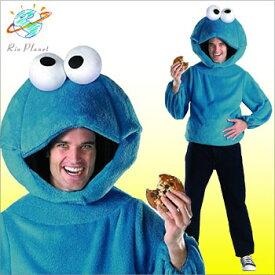 セサミストリート コスチューム コス コスプレ 衣装 仮装 クッキーモンスター 大人 ハロウィン 楽天