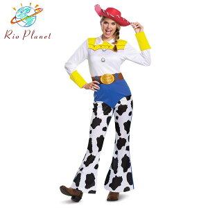 トイストーリー4 ジェシー 仮装 大人用 衣装 コスプレ レディース ハロウィン ディズニー Disney Toy Story 4