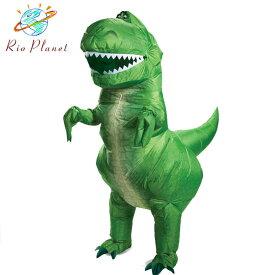 トイストーリー4 レックス恐竜 仮装 大人用 衣装 コスプレ レディース メンズ ハロウィン ディズニー Disney Toy Story 4