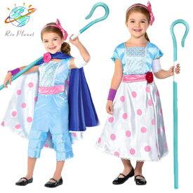 ディズニー トイストーリー ボーピープ 衣装 コスプレ コスチューム 子供服 仮装 キッズ なりきり ハロウィン ボー・ピープ ディズニー公式 Disney Toy Story