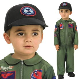 トップガン コスプレ 子供 コスチューム 仮装 衣装 海軍 空軍 ツナギ トムクルーズ TOP GUN