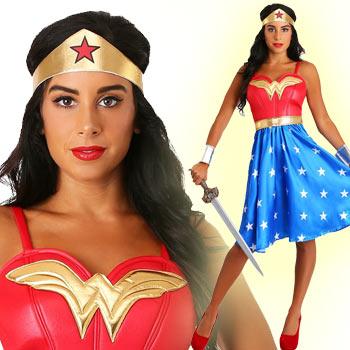 ワンダーウーマン コスチューム 大きいサイズ コスプレ 仮装 大人 衣装 レディース ハロウィン Wonder Woman