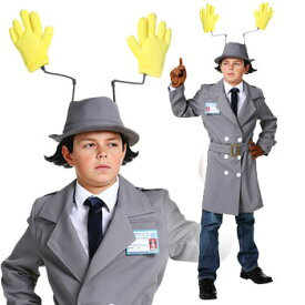 探偵 警察 おもしろ 衣装 子供 コスプレ コスチューム 爆笑 ハロウィン INSPECTOR