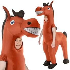 馬 動物 おもしろ 衣装 子供 コスプレ コスチューム 爆笑 ハロウィン HORSE COSTUME