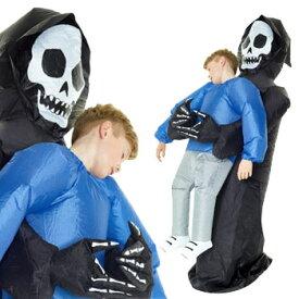 死神 おもしろ 仮装 コスチューム コスプレ お笑い 衣装 爆笑 膨らむ GRIM REAPER