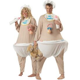 赤ちゃん 大人 おもしろ 仮装 コスチューム コスプレ ペア 衣装 プレイ BABY