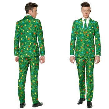 サンタクロース メンズ スーツ セットアップ おもしろ ネクタイ 付き サンタ クリスマス SANTA CLAUSE
