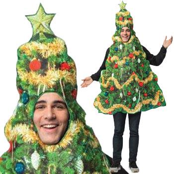 サンタクロース クリスマスツリー コスプレ おもしろ サンタ 衣装 仮装 コスチューム SANTA CLAUSE