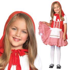 赤ずきん コスプレ 衣装 コスチューム 子供 キッズ マント エプロン ハロウィン RED RIDING HOOD