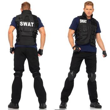 スワット コス コスプレ 仮装 スワット コスチューム メンズ 男性 ポリス swat