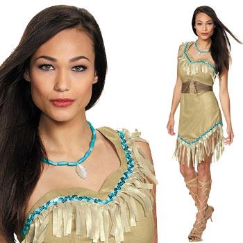 ポカホンタス コスチューム コスプレ 仮装 インディアン 衣装 ディズニー プリンセス ハロウィン Pocahontas