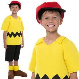 スヌーピー コスチューム コスプレ チャーリーブラウン 子供 イベント 衣装 仮装 ハロウィン Snoopy