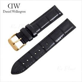 ダニエル ウェリントン 替え ベルト 36mm メンズ レディース 腕時計 ブラック 黒 Daniel Wellington