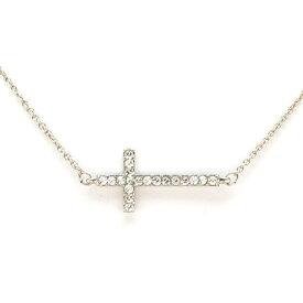 スワロフスキー ネックレス レディース クロス 十字架 人気 ブランド パーティー プレゼント ペンダント Karma & Style
