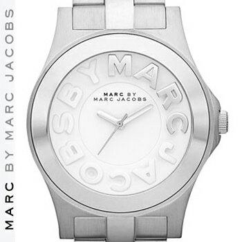 【正規品取扱店】 マーク バイ マーク ジェイコブス 腕時計 リベラ MARC BY MARC JACOBS 'Rivera' Round Bracelet Watch カラー:シルバー