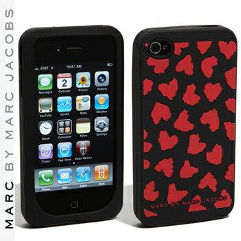 【正規品取扱店】 マーク バイ マーク ジェイコブス iPhone4・4Sケース MARC BY MARC JACOBS 'Wild Hearts' iPhone4・4S cover カラー:レッド