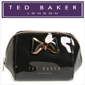 209199cad テッドベーカー コスメポーチ 化粧ポーチ ブランド テッドベイカー TED BAKER 機能的 使いやすい ポーチ
