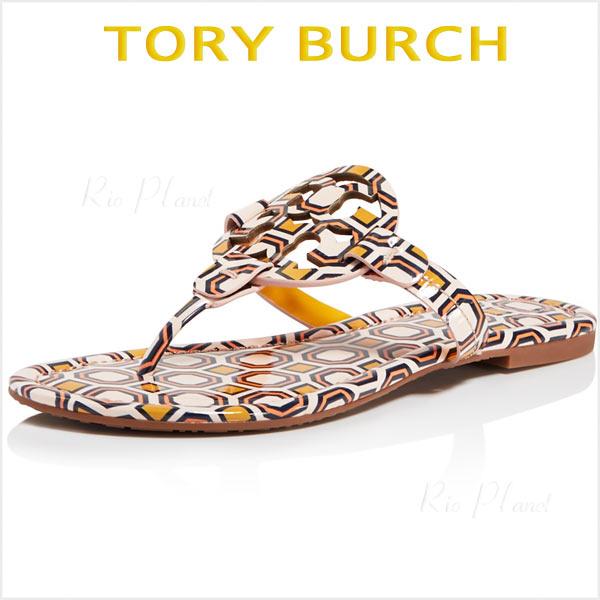 トリーバーチ サンダル トング ロゴ かわいい レディース 楽天 履き心地 サイズ TORY BURCH MILLER ミラー