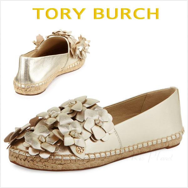 トリーバーチ スリッポン スニーカー エスパドリーユ レディース 歩きやすい 靴 楽天 Tory Burch 正規品