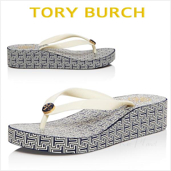 トリーバーチ サンダル ビーチサンダル ウエッジレディース 厚底 歩きやすい 靴 楽天 Tory Burch 正規品