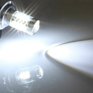 最新!!高品質!!15WLEDバルブ【HB3】フォグランプ等に…12V/24V兼用無極性タイプホワイト発光1個