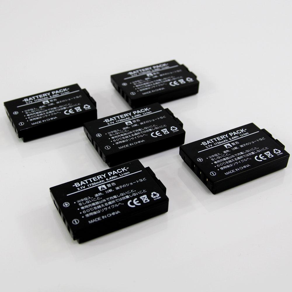 【あす楽対応】 KEYENCE キーエンス BT-3000シリーズ 互換バッテリー 5個パック RCBT-B30 (BT-3000W BT-3000WB BT-B30)