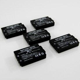 KEYENCE キーエンス BT-3000シリーズ 互換バッテリー 5個パック RCBT-B30 (BT-3000W BT-3000WB BT-B30)