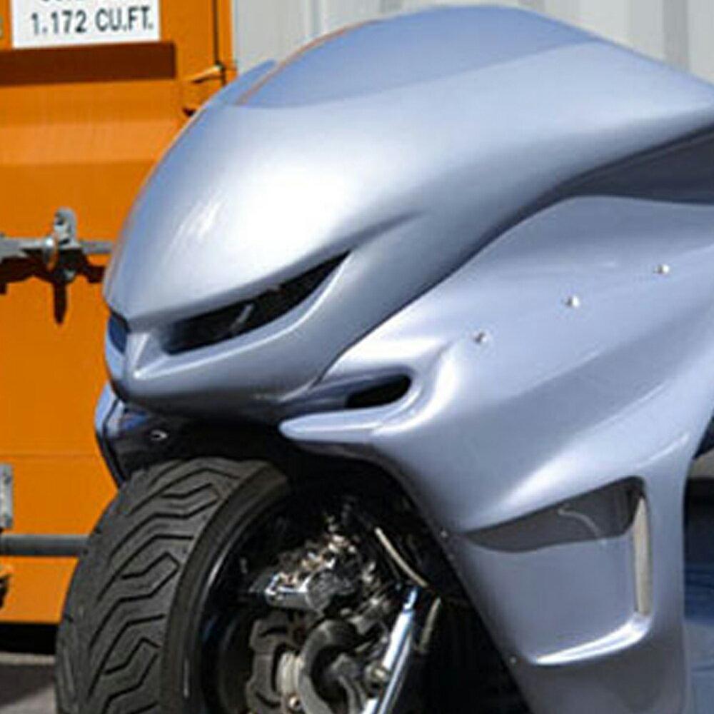 TOPMOST製 マジェスティ C SG03J 白ゲル フロント syuフェイス マスク 未塗装 外装 MAJESTY マジェスティー パーツ #