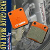 EV-120HD high grade brake pads CB50 cm50 MB5 MB50S MBX50 Magna 50 mx50 C80 cm80 MBX80 CBX125 KX65 ks110 Eliminator 125