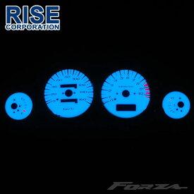フォルツァ MF06 ホワイトメーター ELメーター 発光色グリーンorブルー切り替えOK カスタム パーツ スピード ホンダ HONDA FORZA