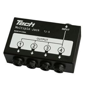 TECH マルチ・ジャック TJ-5 MULTIPLE JACK