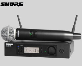 SHURE マイクロホン ワイヤレスセット 2.4GHz帯  GLX-D24R / SM58
