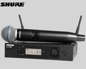 SHURE マイクロホン ワイヤレスセット 2.4GHz帯  GLX-D24R / BETA58A